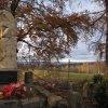 Háje - pomník obětem 1. světové války | pomník obětem 1. světové války v Hájích - listopad 2009