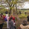 Dlouhá - pomník obětem 1. světové války | slavnostní odhalení obnoveného pomníku obětem 1. světové války nad zaniklou vsí Dlouhá dne 1. května 2019