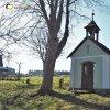 Zlatá Hvězda - kaple Panny Marie   bývalá obecní kaple Panny Marie v osadě Zlatá Hvězda od severozápadu - březen 2017