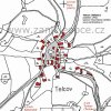 Telcov (Teltsch) | katastrální mapa vsi Telcov z roku 1945