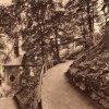Karlovy Vary - kaple Panny Marie | kaple Panny Marie na historické fotografii z roku 1905