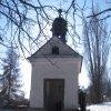 Jeřeň - kaple | vstupní průčelí obecní kaple - únor 2011