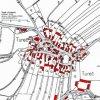 Tureč (Turtsch) | katastrální mapa obce Tureč z roku 1945