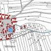 Mětikalov (Meckl)  | katastrální mapa vsi Mětikalov z roku 1945