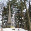 Karlovy Vary - Findlaterův obelisk | Findlaterův obelisk pod Výšinou přátelství - březen 2010