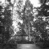Karlovy Vary - Findlaterův obelisk | Findlaterův obelisk na historické fotografii kolem roku 1910
