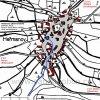 Heřmanov (Hermersdorf) | katastrální mapa vsi Heřmanov z roku 1945