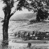 Tocov (Totzau) | pohled na část vsi Tocov (Totzau) na historickém snímku z doby před rokem 1945