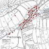 Prachomety (Promuth) | katastrální mapa vsi Prachomety z roku 1945