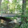 Borek (Haidles) | opravený mostek přes Borecký potok - září 2009