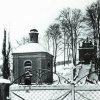 Ostrov - kaple sv. Floriána | kaple sv. Floriána v zimě roku 1940