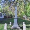 Údrč - pomník obětem 1. světové války | boční strana pomníku padlým - říjen 2010