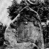 Hroznětín - pomník obětem 1. světové války | původní podoba pomníku padlým v Hroznětíně v době před rokem 1945