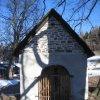 Mariánská - kaple | přední strana kaple - únor 2011