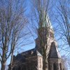 Nejdek - evangelický kostel Vykupitele | kostel od severozápadu - únor 2011