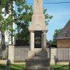 Poseč - pomník obětem 1. světové války | přední strana pomníku - červen 2017