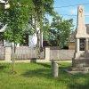 Poseč - pomník obětem 1. světové války | obnovený pomník obětem 1. světové války na návsi uprostřed vsi Poseč po celkové rekonstrukci - červen 2017