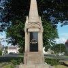 Otročín - pomník obětem 1. světové války | přední strana pomníku - červen 2017