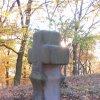Drahovice (u Slavie) - smírčí kříž a kopie | kopie smírčího kříže - říjen 2009