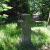 Drahovice (u Slavie) - smírčí kříž a kopie | kopie smírčího kříže v Drahovicích - červen 2009