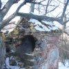 Valeč - Hoppova kaple | zchátralá kaple od jihovýchodu - únor 2011