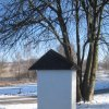 Andělská Hora - kaplička sv. Ludmily | kaplička sv. Ludmily od jihozápadu - únor 2011