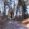 Karlovy Vary - kaple Ecce homo | kaple Ecce homo na rozcestí lesních pěšin - únor 2011