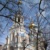 Karlovy Vary - pravoslavný kostel sv. Petra a Pavla | kostel od jihozápadu - březen 2010