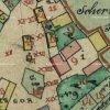 Radotín - kaple sv. Jakuba | kaple sv. Jakuba na návsi na mapě císařského otisku stabilního katastru obce Radotín z roku 1841