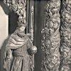 Ostrov - kostel Zvěstování Panny Marie | sochařská výzdoba před rokem 1945