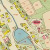 Lochotín - kostel Nanebevzetí Panny Marie | kostel Nanebevzetí Panny Marie ve vsi Lochotín (Lochotin) na povinném císařském otisku mapy stabilního katastru z roku 1841
