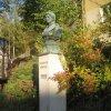 Březová - busta Theodora Körnera | busta Theodora Körnera - říjen 2011