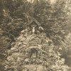 Karlovy Vary - lesní pobožnost | lesní pobožnost v roce 1927