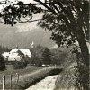 Mariánská - kapucínský klášter | areál kapucínského kláštera od východu před rokem 1945