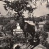 Karlovy Vary - plastika jelena | plastika jelena za Richmondem ve druhé polovině 20. století