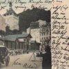 Karlovy Vary - Tržní kolonáda | Tržní kolonáda na kolorované pohlednici před rokem 1904