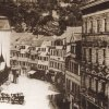 Karlovy Vary - Tržní kolonáda | novostavba dřevěné Tržní kolonády na podzim roku 1883
