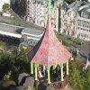 Karlovy Vary - Mayerův gloriet | Mayerův gloriet z Petrovy výšiny - září 2011