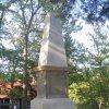 Karlovy Vary - Tereziin obelisk   renovavaný Tereziin obelisk - září 2011