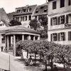 Karlovy Vary - Zámecká kolonáda | Zámecká kolonáda na historické fotografii z roku 1897