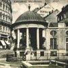 Karlovy Vary - Zámecká kolonáda | kruhový altán Horního Zámeckého premene v roce 1923