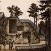 Karlovy Vary - busta Petra Velikého | busta Petra Velikého na polygrafii z konce 19. století