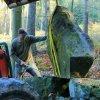 Žlutice - pomník Friedricha Ludwiga Jahna | obnova Jahnova pomníku - říjen 2013 (foto Jan Borecký)