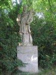 Chyše - socha sv. Jana Nepomuckého  