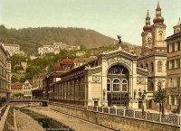 Karlovy Vary - litinová Vřídelní kolonáda |