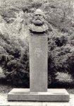 Karlovy Vary - busta Karla Marxe |