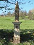 Kolešov - socha sv. Barbory | Kolešov - socha sv. Barbory