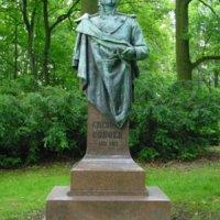 Dalovice - busta Karla Theodora Körnera