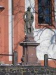 Valeč - socha sv. Jana Křtitele |