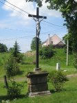 Lažany - železný kříž  